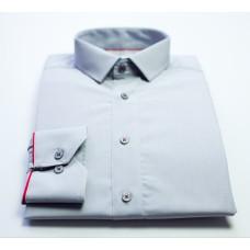 Košile světle šedá